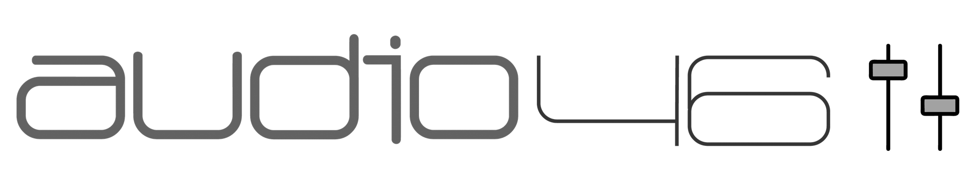 Audio 46 logo bw