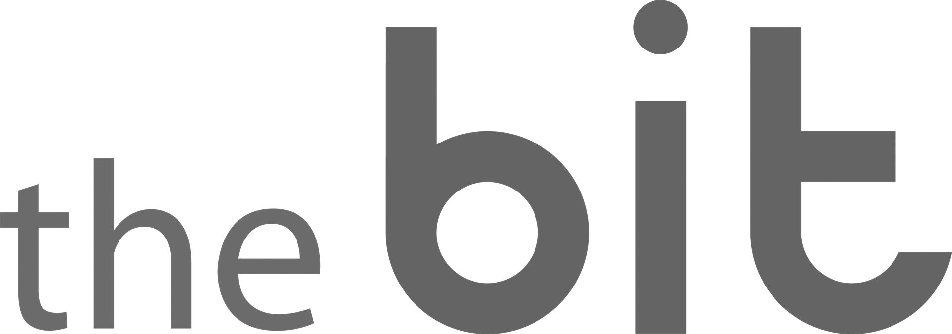The Bit logo bw